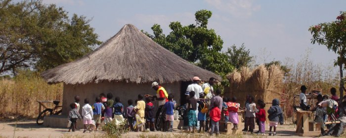 Rural site in Zambia