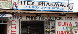 A pharmacy in Kitale